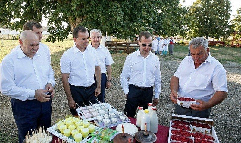 Премьер-министр РФ : «На Кубани необходимо строить логистические центры»